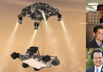 Work on Future Mars Rovers featured on The Conversation